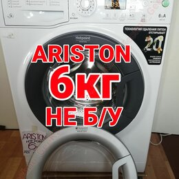 Стиральные машины - ARISTON HOTPOINT 6кг 1000об НЕ Б /У Как Новая. , 0