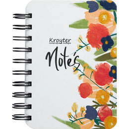 Бумажная продукция - Бизнес-тетрадь Kroyter Flowers, 0