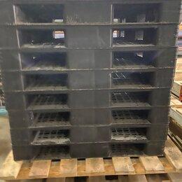 Оборудование для транспортировки - Пластиковые поддоны 1300х1100, 0