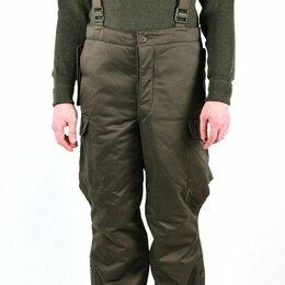 Одежда и обувь - Оригинал утепленные брюки-полукомбинезон Bundesheer, 0