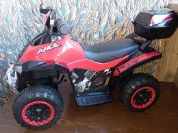 Электромобили - Детский квадроцикл электромобиль красный, 0