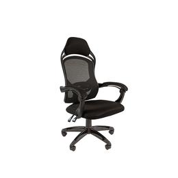 """Компьютерные кресла - Игровое кресло """"Chairman Game 12"""" Черный, 0"""
