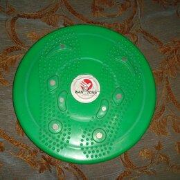 Другие тренажеры - Диск здоровья пластмассовый 801 зеленый, 0