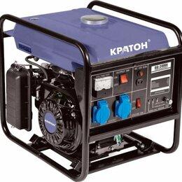 Электрогенераторы и станции - Генератор бензин инверторный Кратон GG-2400i, 0