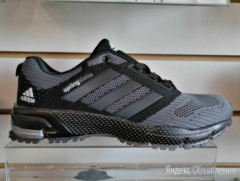 Кроссовки adidas серые  по цене 1600₽ - Кроссовки и кеды, фото 0