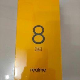 Мобильные телефоны - Realme 8 5G 6/128Gb nfc(новые), 0
