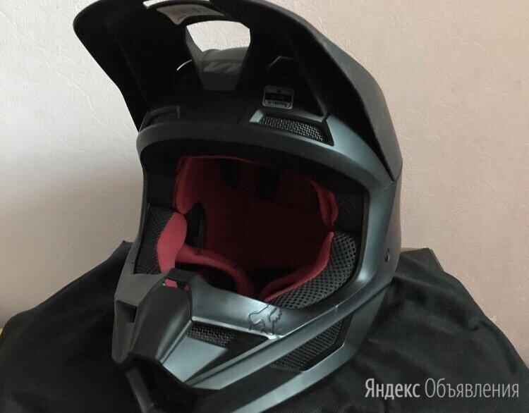 Шлем Fox V1 чёрный матовый по цене 12500₽ - Мотоэкипировка, фото 0