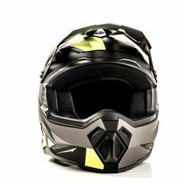 Спортивная защита - Шлем мото HIZER J6801, 0