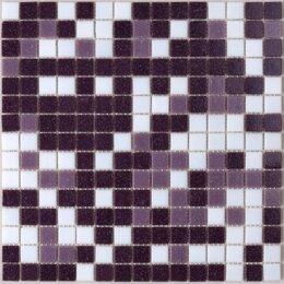 Мозаика - Мозаика Tessare 32,7х32,7х0,4см стекломасса бело-сиреневый шт(RHM06), 0