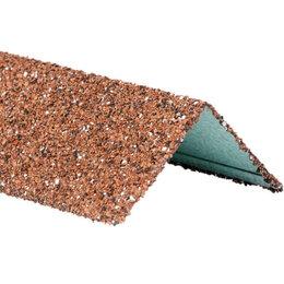 Отделочный профиль, уголки - Уголок внешний металлический HAUBERK Красный 50*50*1250мм, 0