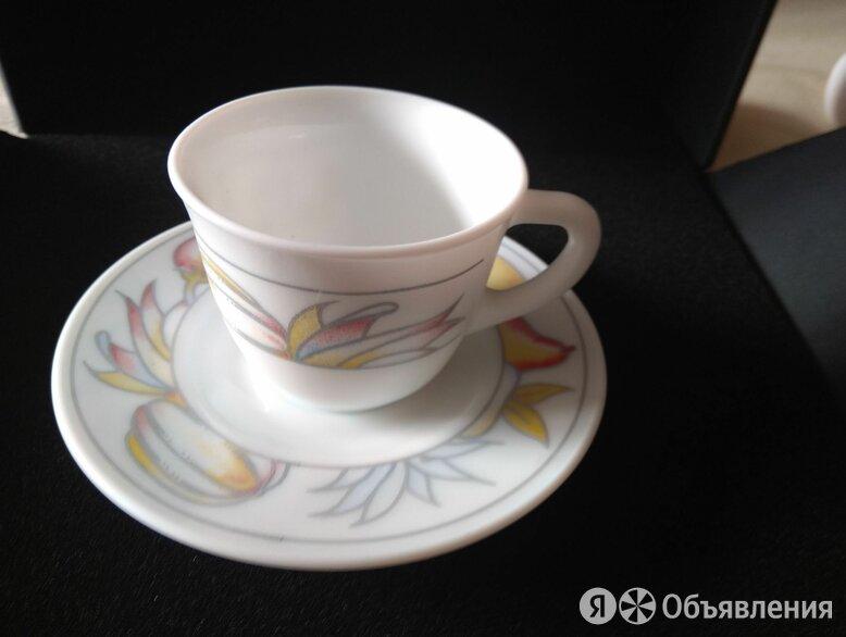 сервиз кофейный из опалового стекла  по цене 1500₽ - Сервизы и наборы, фото 0