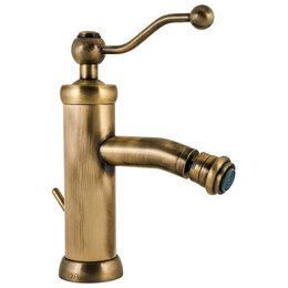 Комплектующие - Смеситель Paini Duomo 88F3306KM для биде, с донным клапаном, цвет старая бронза, 0