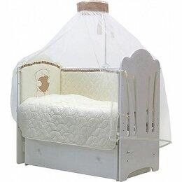 """Постельное белье - Комплект белья в детскую кроватку """"Тори"""", 7 предметов/стежка, 0"""