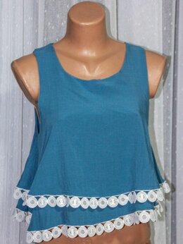 Блузки и кофточки - Блузка с фриволите, 0