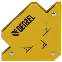 Аксессуары и комплектующие - Фиксатор магнитный для сварочных работ, усилие 25 Lb Denzel, 0