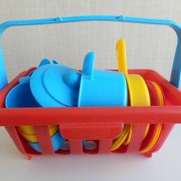 Игрушечная еда и посуда - Набор игрушечной детской посуды, 0