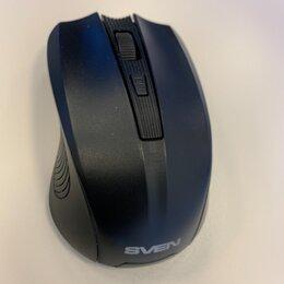 Мыши - Мышь беспроводная sven rx-345 black, 0