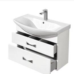Раковины, пьедесталы - Тумба для ванной, раковина (комплект), 0