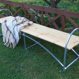 Столы - Лавочка без спинки Агросфера Дружба, Сухая обрезная доска, 0