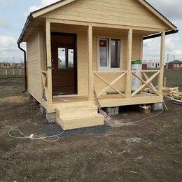 Готовые строения - Каркасно-щитовой дом 4*6 м, 0