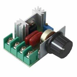 Электроустановочные изделия - Регулятор мощности (диммер) 220В/2000Вт, 0