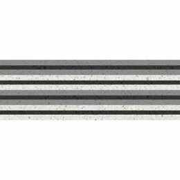 Керамическая плитка - Декор Molle black 02 30х90 (5шт), 0