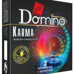 Презервативы - Ароматизированные презервативы Domino Karma - 3 шт., 0