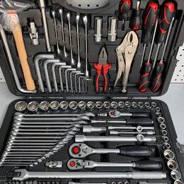 Наборы инструментов и оснастки - FORCE 41421 набор инструментов 1/4 3/8 1/2 - 142 ед., 0