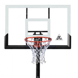 Стойки и кольца - Баскетбольная мобильная стойка DFC STAND48P, 0