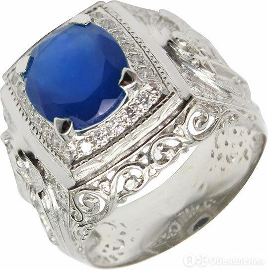 Кольцо Маршал KM-141/3-sinij-fianit_21 по цене 4480₽ - Комплекты, фото 0