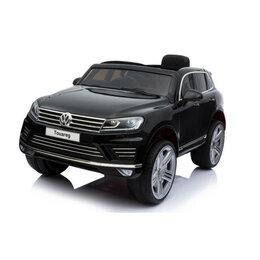 Электромобили - Детский электромобиль Dake VW Touareg Black 12V 2.4G - F666, 0