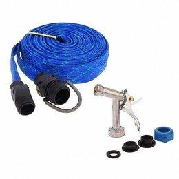 Шланги и комплекты для полива - Шланг для полива в текстильной оплетке, распылитель, 0