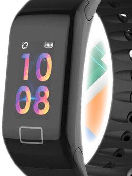 Умные часы и браслеты - Смарт фитнес браслет F1 Plus , 0