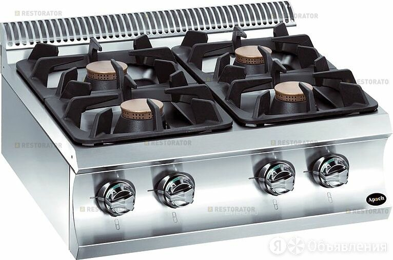 Apach Плита газовая Apach Chef Line GLRRG77 по цене 121820₽ - Промышленные плиты, фото 0