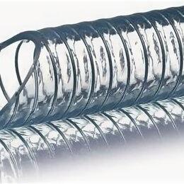 Прочее оборудование - Шланг пищевой пвх всасывающий, армированный стальной спиралью, metal-flex, 0