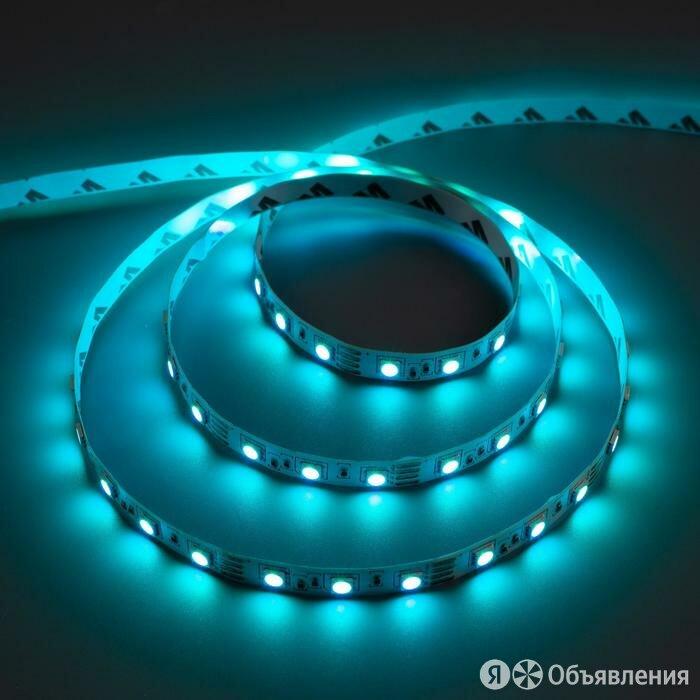 Комплект светодиодной ленты URM, 12В, SMD5050, 5 м, IP20, с аксесс., пульт, 6... по цене 2304₽ - Товары для электромонтажа, фото 0