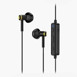 Наушники и Bluetooth-гарнитуры - Bluetooth-наушники вкладыши Hoco ES21 Wonderful sport (black), 0