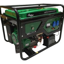 Электрогенераторы и станции - Генератор бензиновый Robbyx RB6500E 5.5 кВт, 0