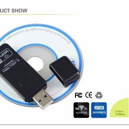 Сетевые карты и адаптеры - Новый Wi-Fi адаптер 300mbps +кнопка WPS, 0