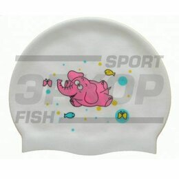 Аксессуары для плавания - Шапочка для плавания Атеми силикон рис, 0