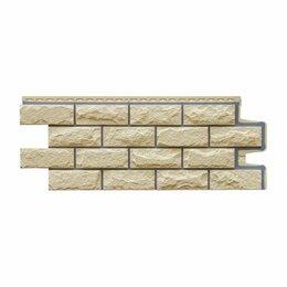 Фасадные панели - Фасадная панель Grand Line Колотый камень Премиум Шампань, 0
