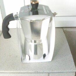 Кофеварки и кофемашины - Кофеварка гейзерная, 300мл, алюминий, 0