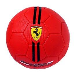 Мячи - Мяч футбольный FERRARI р.5, цвет красный, 0