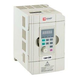 Аксессуары и запчасти - Преобразователь частоты 1.5/2.2кВт 1х230В VECTOR-100 PROxima EKF VT100-1..., 0
