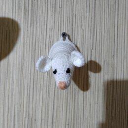 Рукоделие, поделки и сопутствующие товары - Крыса белая крючком , 0