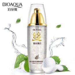 Для лица - Тонер с гиалуроновой кислотой и прпотеинами шелка Bioaqua, 0