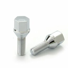 Шины, диски и комплектующие - Болты колесные М12х1,5 (56/31) Хром конус ключ 17, 0