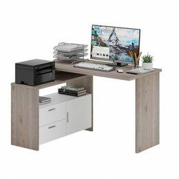 Компьютерные и письменные столы - СКЛ-Прям120 + ТБЛ компьютерный стол, 0