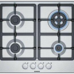 Плиты и варочные панели - Встраиваемая газовая панель Siemens EG6B5HO90R, 0