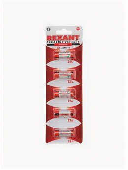 Батарейки - Батарейка 23А Rexant, 0